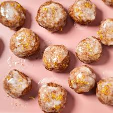 Iced Lemon Cookie Energy Balls